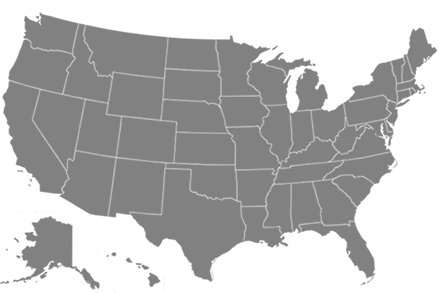US Location Map for Ultimate Outdoor Movies