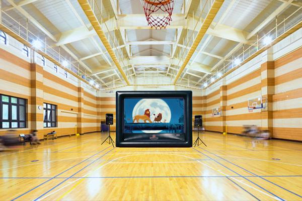 indoor movie screen rentals